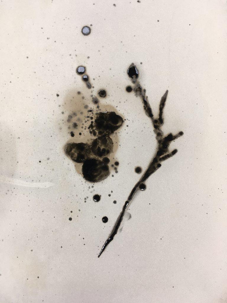 Experimental Stone Lithography, Jane Elizabeth Bennett, 2018