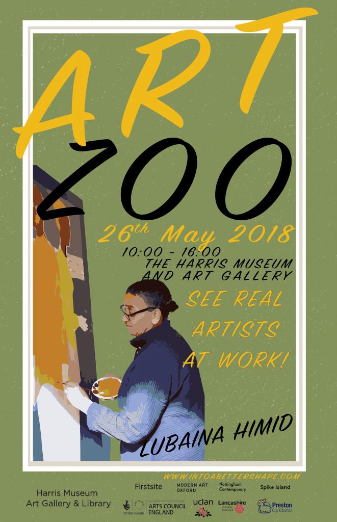 Lubaina Himid - Painter, Art Zoo, The Harris Preston 2018, Lubaina Himid, Hard Times