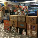 State of Print, Artist Lead Nation box installation at UCLan