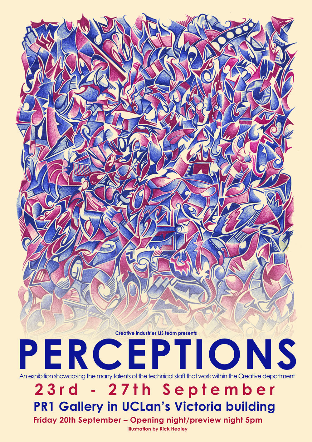 Perceptions an exhibition at the PR1 Gallery