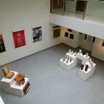 UCLan's Art Gallery Exhibition opening night at the PR1 Gallery