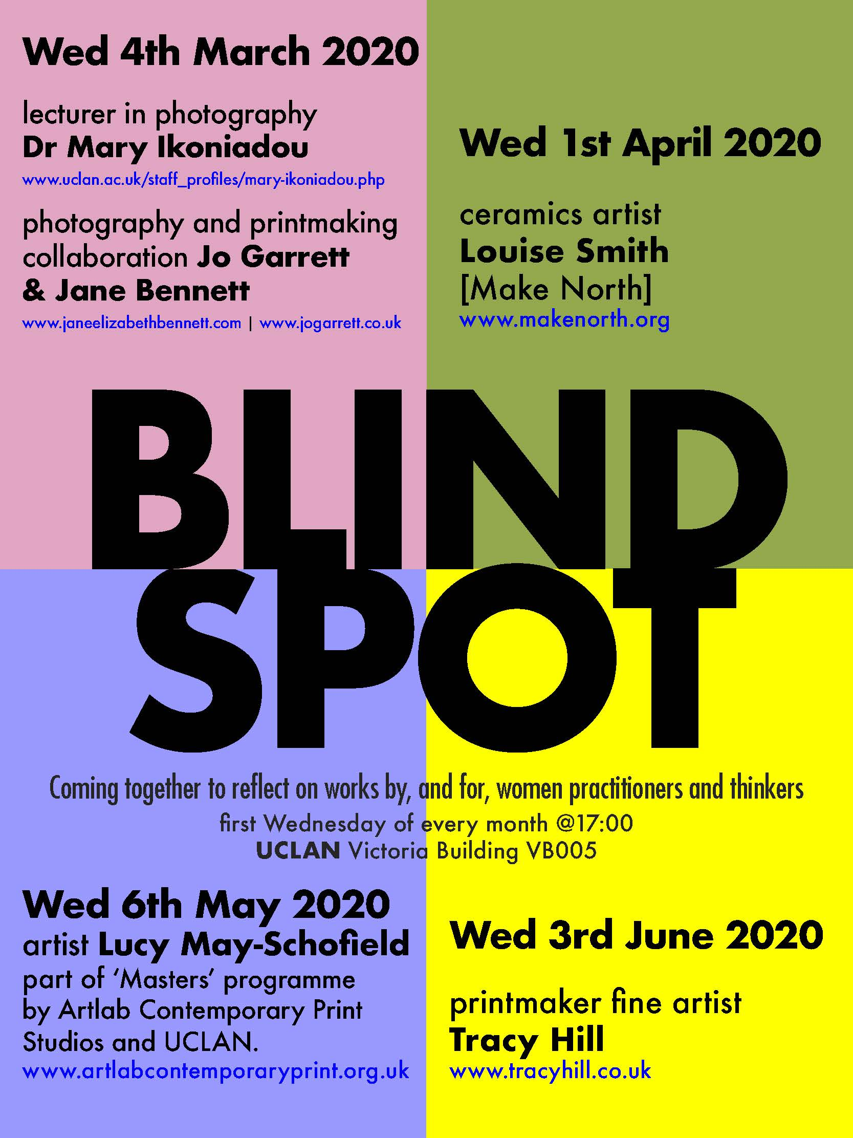 Blind Spot, Jane Elizabeth Bennett and Jo Garrett