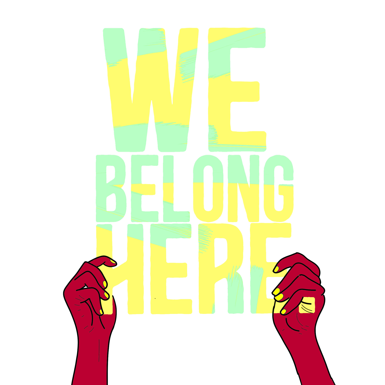 We Belong Here Zero Hour Residency Logo